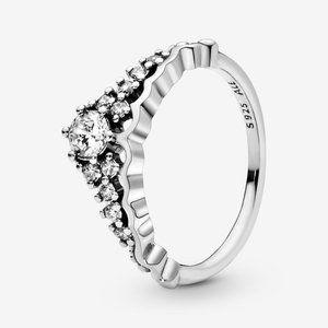 🍓Pandora Fairy Tale Tiara Wishbone Ring